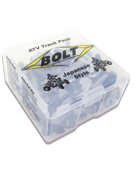 KIT TORNILLOS BOLT TRACK PACK ATV JAPONESES