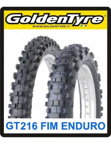 NEUMATICO GOLDENTYRE MX ENDURO FIM GT 216 80/100-21