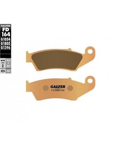 PASTILLAS DE FRENO DELANTERAS GALFER HONDA CR 125/250 92-07 CRF 250/450 01-18