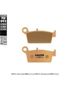 PASTILLAS DE FRENO TRASERAS GALFER GAS GAS EC 01-09