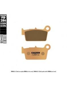 PASTILLAS DE FRENO TRASERAS GALFER GAS GAS EC 09-15