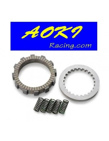 KIT EMBRAGUE COMPLETO AOKI HONDA CRF 450R 02-08 CRF 450X 05-13