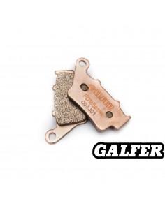 PASTILLAS DE FRENO TRASERAS GALFER GAS GAS HP WILD 50/240/300/450 03- HP WILD 515 09-