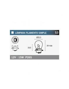 LAMPARA 12V 15W