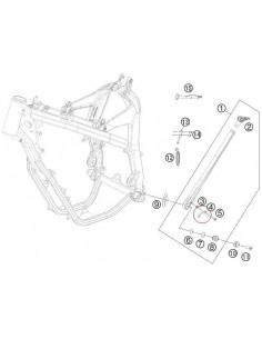 PLETINA CABALLETE LATERAL ORIGINAL KTM 08-16 HUSABERG - 78003023090