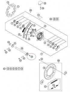 TAPON PLASTICO KTM - 50210086000