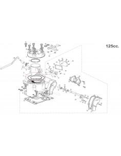 TORICA CULATA EXTERIOR GAS GAS EC 125