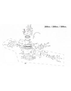 ARANDELA COBRE GAS GAS 8X16X1.5