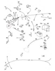 RELE INTERMITENCIA KTM 98-13