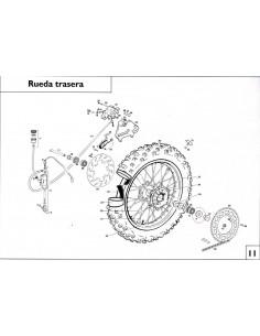 RETEN RUEDA TRASERA GAS GAS 25X47X7