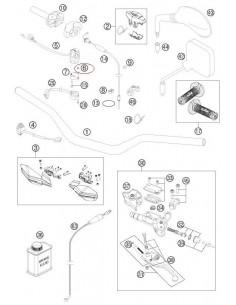 TUERCA HEXAGONAL M4 KTM