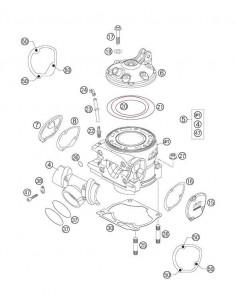 TORICA CULATA INTERIOR KTM EXC 250 05-06
