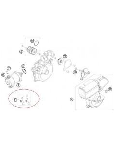 KIT ESCOBILLAS MOTOR DE ARRANQUE KTM EXC 2T - VER MODELOS DENTRO