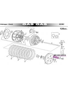 MUELLE EMBRAGUE GAS GAS EC 125 00-11