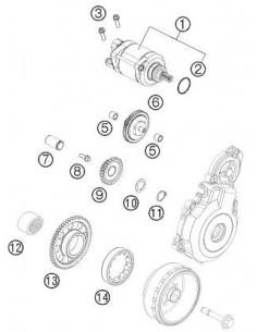 TORNILLO KTM M6X16