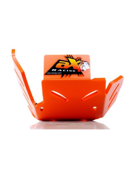 CUBRECARTER AXP RACING CON PROTECTOR DE BIELETAS KTM EXC 250/300 17-18 NARANJA