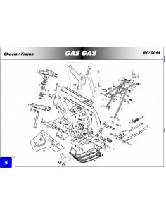 TORNILLO ESPECIAL 8X70 GAS GAS