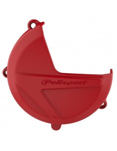 PROTECTOR TAPA EMBRAGUE POLISPORT BETA RR 250/300 13-18 X-TRAINER 300 16-18 ROJA