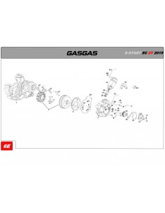 JUNTA TAPA ENCENDIDO GAS GAS EC 250/300 14-18