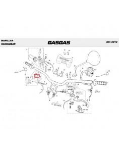 GOMA ANTIESPUMANTE BOMBA DE FRENO NISSIN GAS GAS