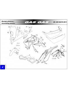 TORNILLO ROSCA PLASTICO GAS GAS