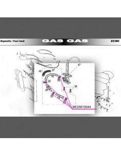 ABRAZADERA TUBO GASOLINA GAS GAS
