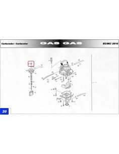 TENSOR CABLE DE ACELERADOR GAS GAS EC