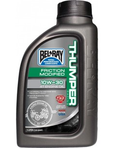 ACEITE BELRAY THUMPER RACING 10W30 4T 1 LITRO