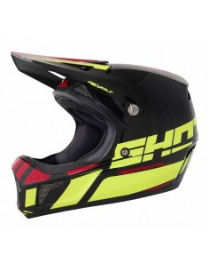 OUTLET CASCO SHOT BICI REVOLT ACID AMARILLO FLUOR-ROJO 2018