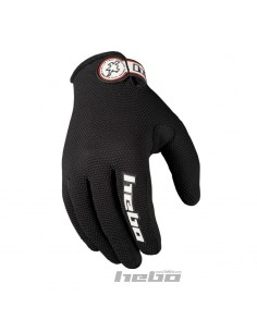 GUANTES TRIAL HEBO TEAM NEGROS