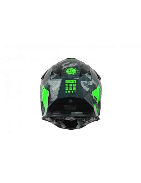 CASCO JUST1 J32 PRO SWAT CAMO VERDE FLUOR