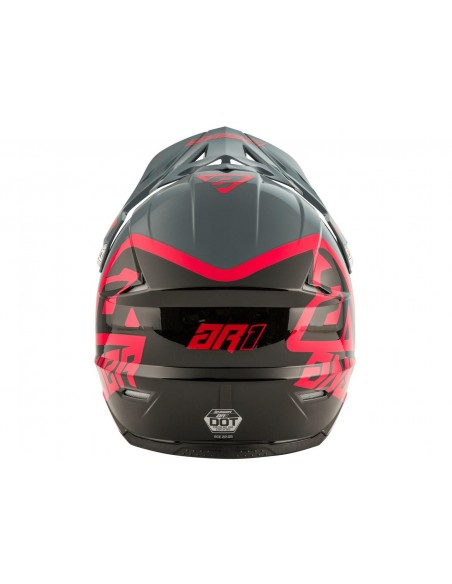 CASCO ANSWER AR1 PRO GLO AMARILLO AZUL OSCURO BLANCO 2020