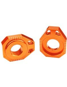 TENSORES DE CADENA SCAR KTM SX 125/250 13-19 SXF 250/350/450 13-19 NARANJAS