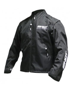 CHAQUETA SHOT ENDURO CONTACT NEGRA