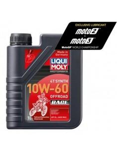 ACEITE LIQUI MOLY 4T 100% SINTETICO 10W60 OFF ROAD RACE - 1 LITRO