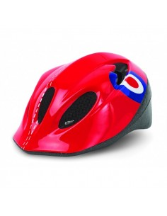 OUTLET CASCO BICI JUNIOR POLISPORT P3 ROJO