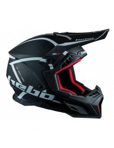 OUTLET CASCO HEBO ENDURO LEGEND CARBON NEGRO