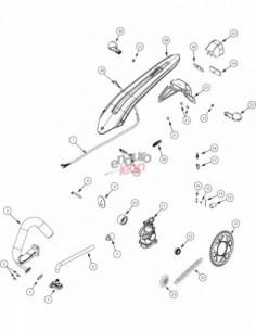 CADENA REGINA 135/520 EB-OROx102