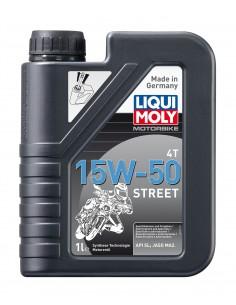 ACEITE LIQUI MOLY 100% SINTETICO 15W50 STREET - 1 LITRO