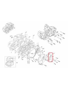 TAPA BOMBA DE AGUA GAS GAS EC 250/300 18-19