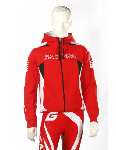 OUTLET SUDADERA GAS GAS TEAM - TALLA XS