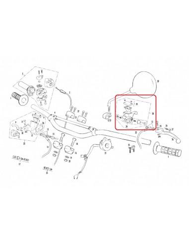 BOMBA DE EMBRAGUE AJP GAS GAS EC TXT LIQUIDO DE FRENO 650.00.701