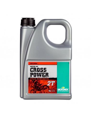 ACEITE MOTOREX CROSS POWER 2T 4 LITROS