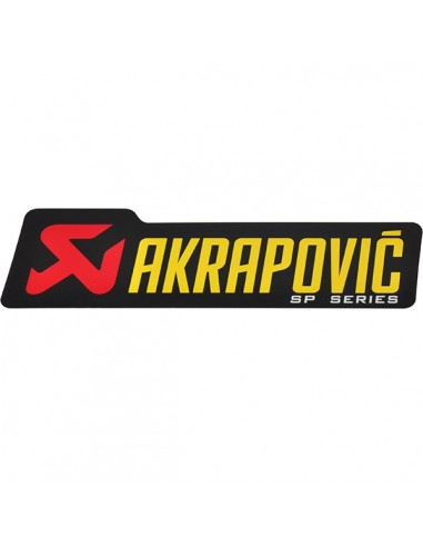 ADHESIVO ANTICALORICO AKRAPOVIC SP SERIES 180X53 MM