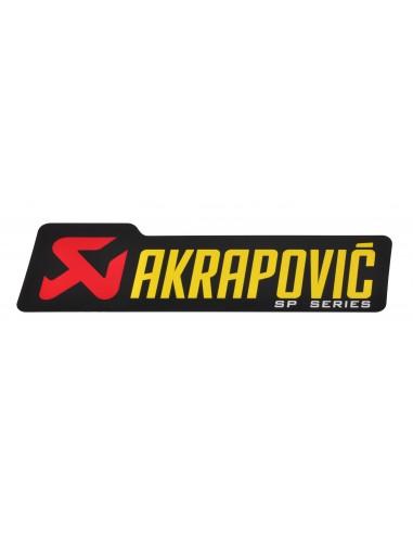 ADHESIVO ANTICALORICO AKRAPOVIC SP SERIES 90X26,5 MM