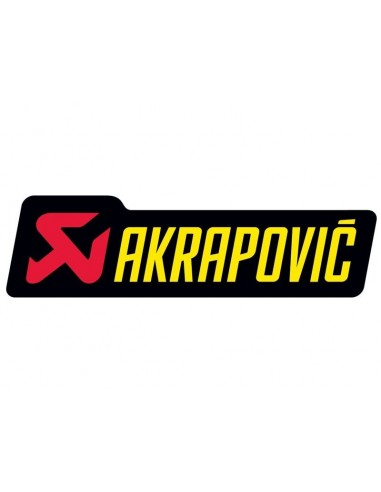 ADHESIVO ANTICALORICO AKRAPOVIC 120X34,5 MM