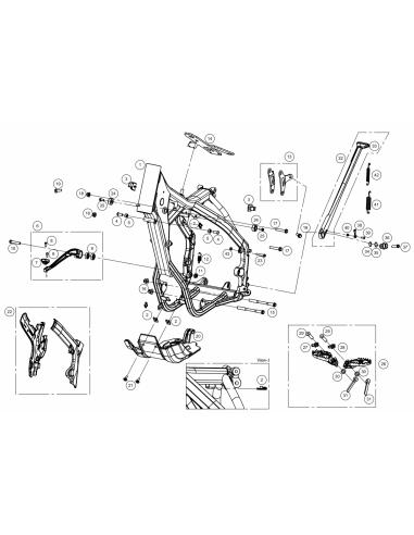 TUERCA AUTOB.M10 PASO 1.25 PLATA