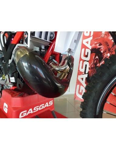 PROTECTOR BUFANDA DE ESCAPE CARBONO GAS GAS EC 200/250/300 99-17