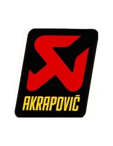 ADHESIVO ANTICALORICO AKRAPOVIC 90X75 MM