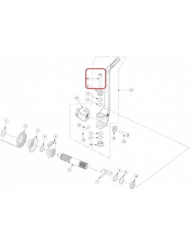 TORNILLO ALLEN 6X35 GAS GAS